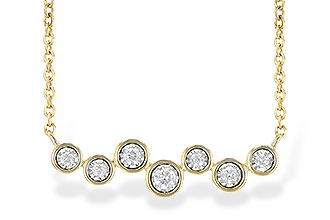 A226-60999: NECKLACE .13 TW