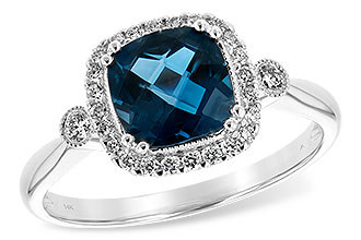 K225-64571: LDS RG 1.62 LONDON BLUE TOPAZ 1.78 TGW