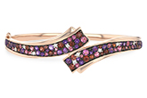 L224-79143: BANGLE 3.12 MULTI-COLOR 3.30 TGW (AMY,GT,PT)